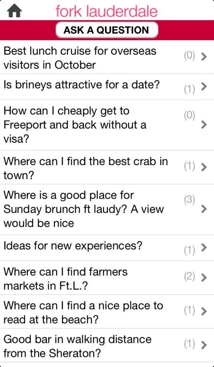 Fork Lauderdale Dining App screenshot-4