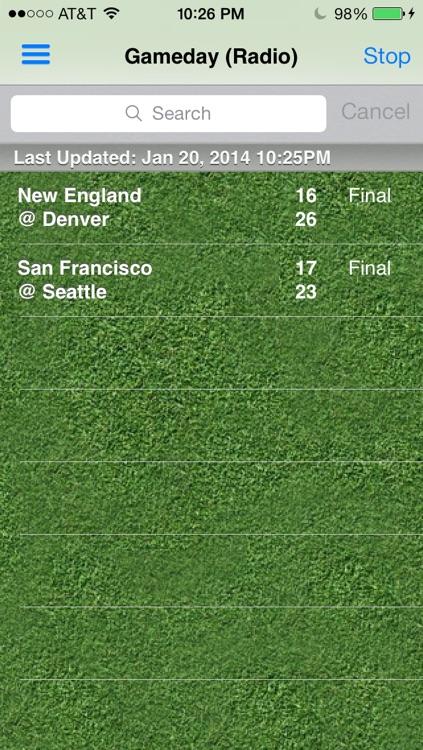 Pro Football Radio Live - News, Scores, Schedule & Highlights screenshot-4