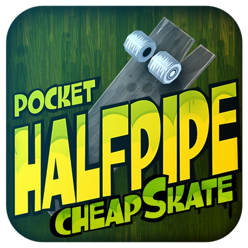 Pocket HalfPipe CheapSkate