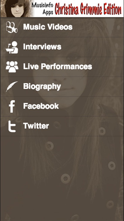 Musicinfo Apps - Christina Grimmie Edition+