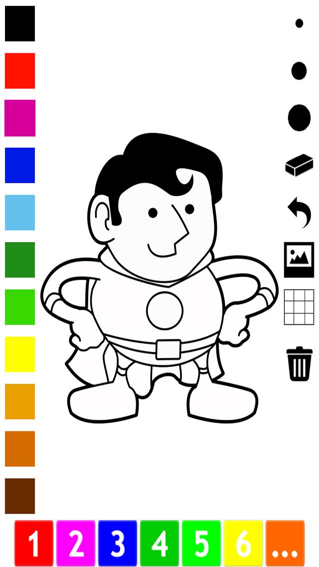活動 圖畫書 的 職業 兒童: 學畫畫 與許多圖片屏幕截圖4