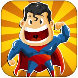 Superhero Shootout - Brave Man Splatting Game for Boys FREE