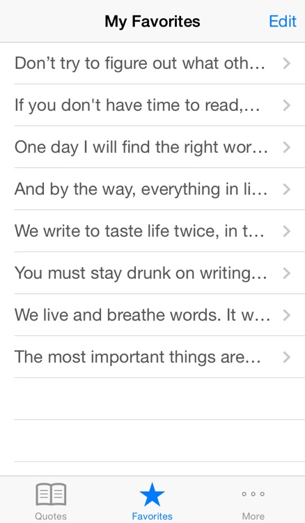 Writer Quotes - Motivational sayings to clear writing block,  coach and inspire you screenshot-3