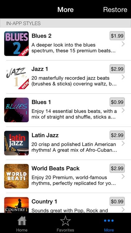Drum Beats+ (Rhythm Metronome, Loops & Grooves Machine) screenshot-4