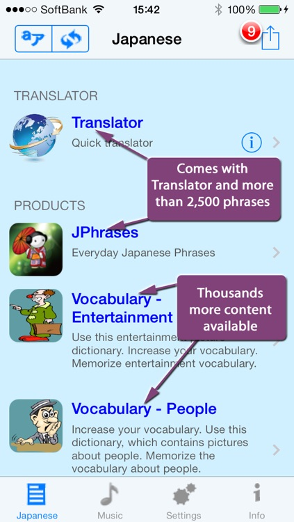 Japanese - Talking English to Japanese Translator and Phrase Book