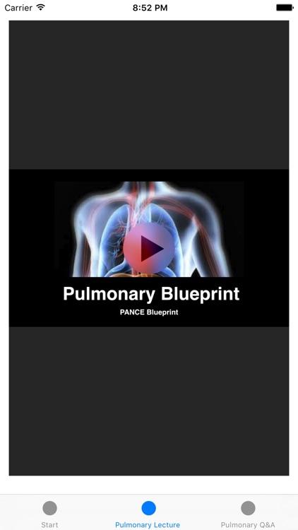 Pulmonary Blueprint PANCE PANRE Review Course