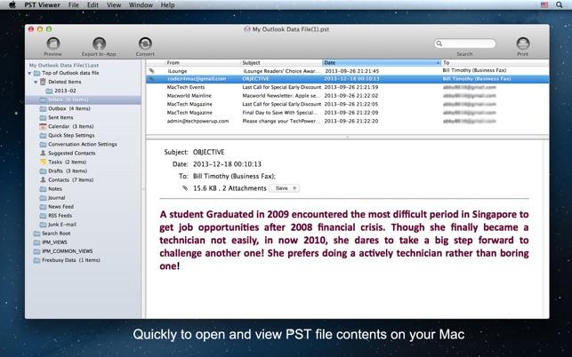 PST Viewer Freeware