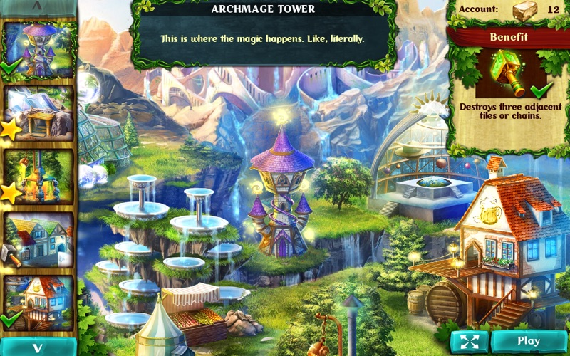 Jewel Legends: Magical Kingdom screenshot 3
