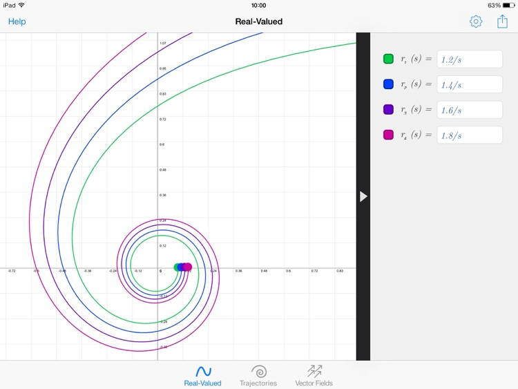 GraphMe HD: Graphing Calculator screenshot-3
