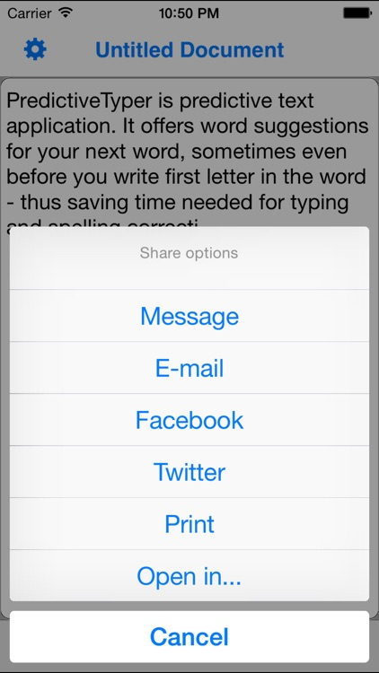 PredictiveTyper - Text Editor with Smart & Fast Predictive Text Keyboard