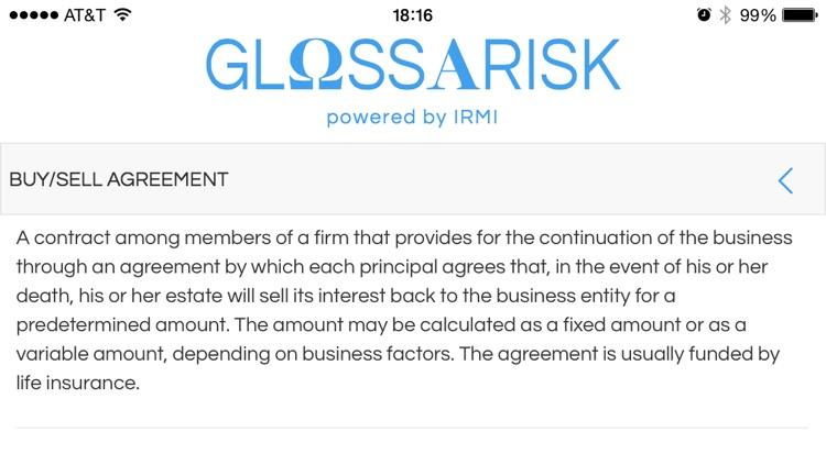 Glossarisk