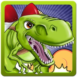 Jetpack Dinosaur - Save the Dino's from Flying Asteroids