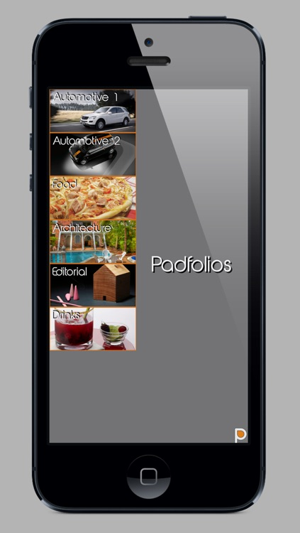 Padfolios - Portfolio for iPad, iPhone and iPod touch screenshot-0