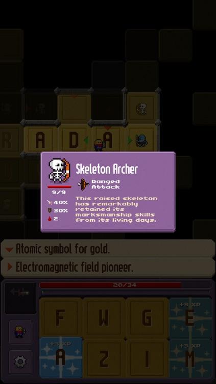 Crossword Dungeon screenshot-4