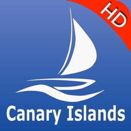 Canary Islands nautical Chart HD: marine & lake gps waypoint, route and track for boating cruising fishing yachting sailing diving