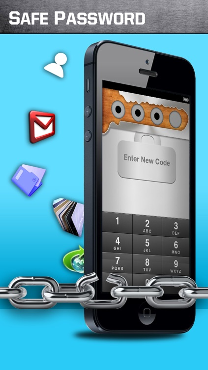 Safe Password free for iPhone screenshot-0
