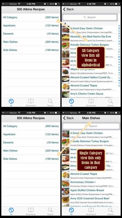 500 Atkins Recipes screenshot-4