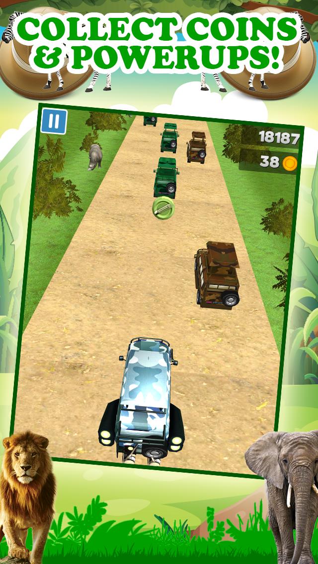 エンドレスリアルアドベンチャーシミュレータードライビング無料で3Dサファリジープレーシングゲームのおすすめ画像4