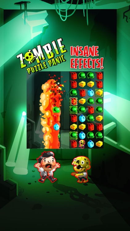 Zombie Puzzle Panic screenshot-1