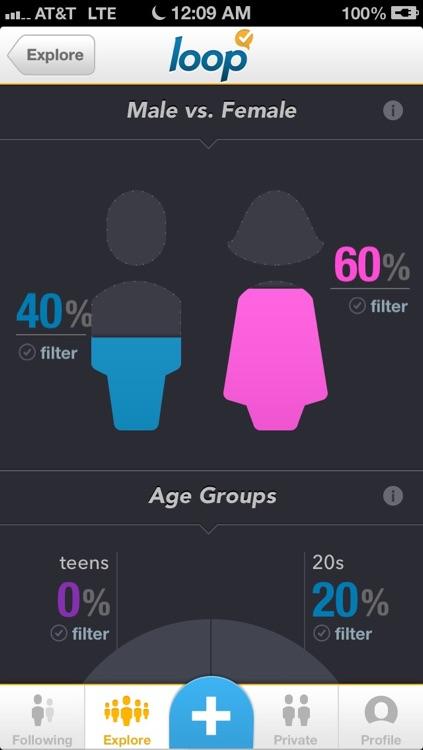 Loop - Social Polling screenshot-3