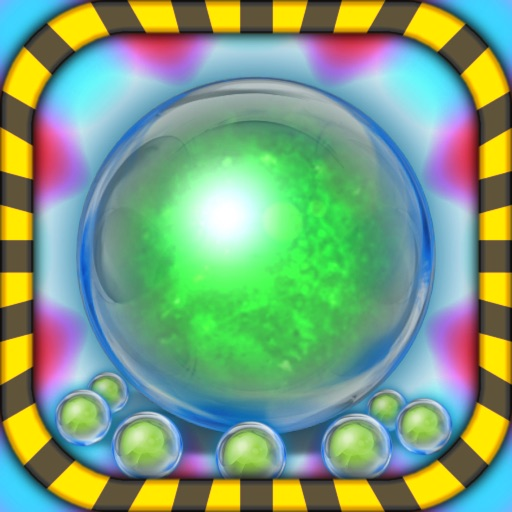 Bubble Running Away HD Free - The Line Runner Mania Game Saga for iPad & iPhone