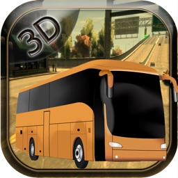 3D Bus Driver Simulator Car  Game - Real Monster Truck Driving Test