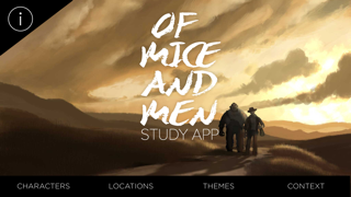 Of Mice and Men Study App screenshot one