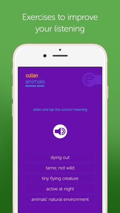 Screenshot for Cullen IELTS 7+ in Pakistan App Store