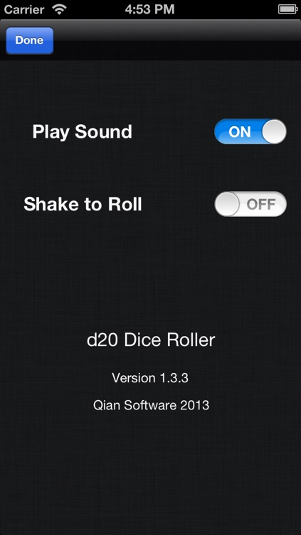 d20 Dice Roller