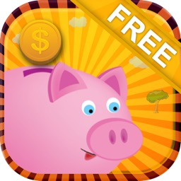 Pink piggy bank clicker – The Gold Coin Money Tap as much as you want cash - Free