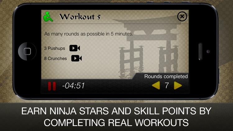 Ninja Fitness Free: Strength, Running, Yoga and Meditation Workout Program screenshot-3