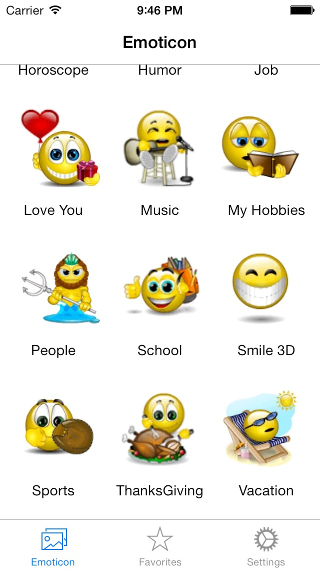 Animated 3D Emoji Emoticons Free - SMS,MMS,WhatsApp Smileys Animoticons Stickers Screenshot