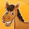 アクティブ!馬と子供の年齢2-5のためのゲーム: 学ぶ 馬、ポニー、乗馬、種馬、および動物についての幼稚園のため、幼稚園や保育園