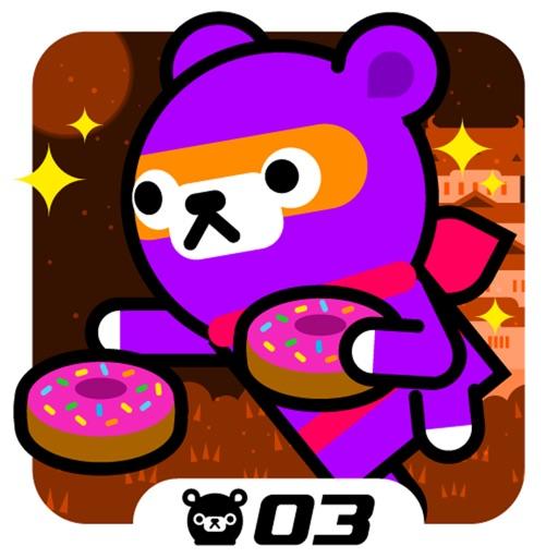 Donut Ninja - Tappi Bear