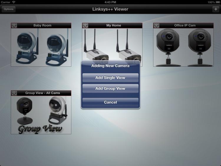 Linksys++ Viewer for iPad screenshot-3