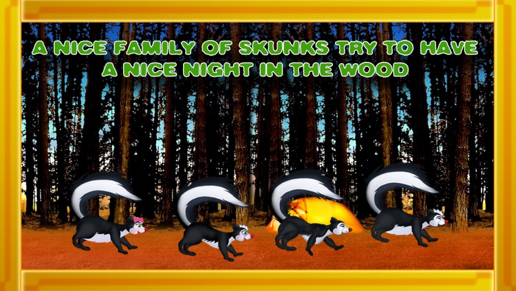 The Game that Stink ! The skunks camping trip story - Free Edition