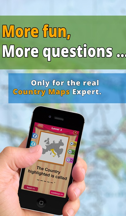 Allo! Guess the Country Map Geography Quiz Trivia  - What's the icon in this image quiz screenshot-3