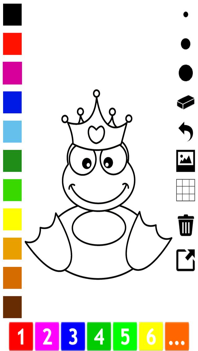 活躍!圖畫書 公主的女孩:有很多照片像灰姑娘,王國,城堡和馬屏幕截圖5