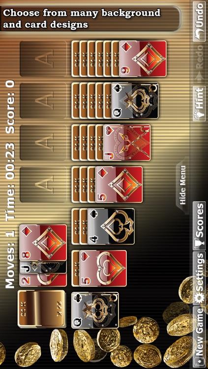 * Solitaire Double-Deck HD * screenshot-4