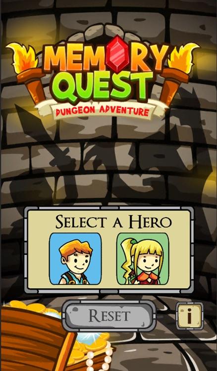 Memory Quest: Dungeon Adventure screenshot-0