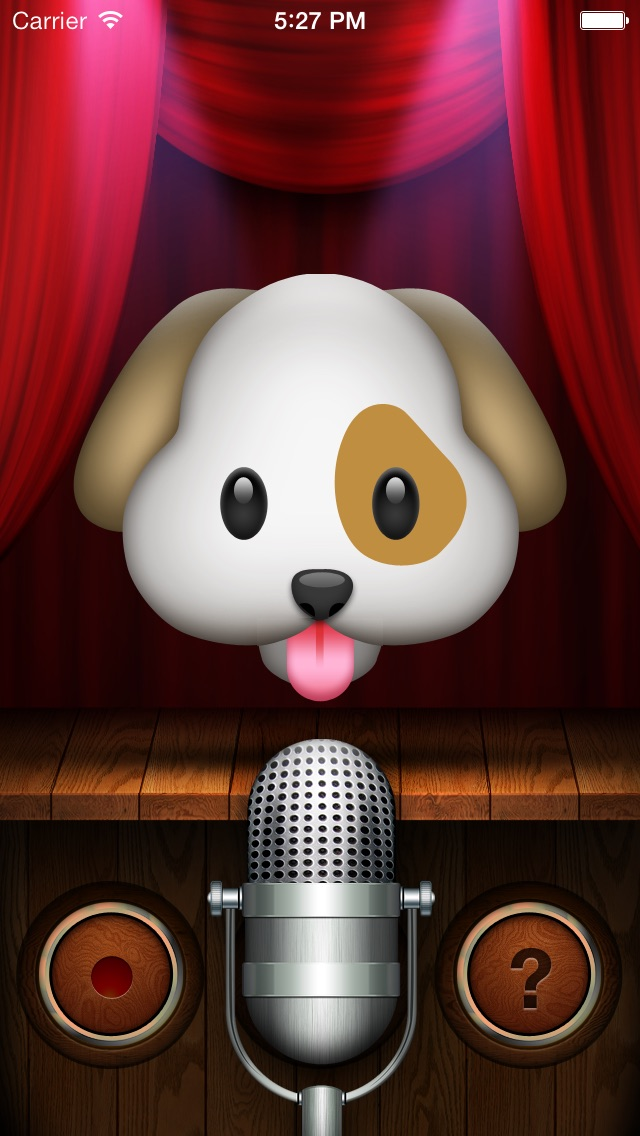 My Talking Dog Emoji Screenshot