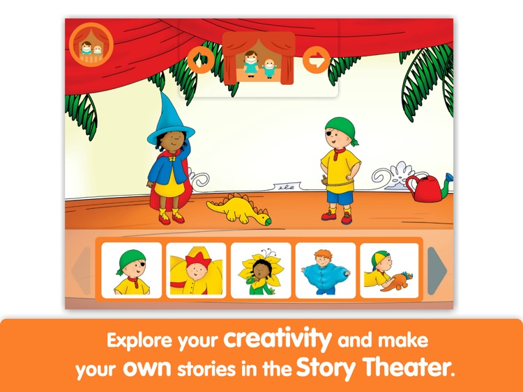 Caillou: My First Play by i Read With screenshot-3