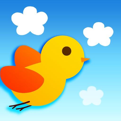 PataPata Bird! - simple brain training, flappy puzzle game iOS App