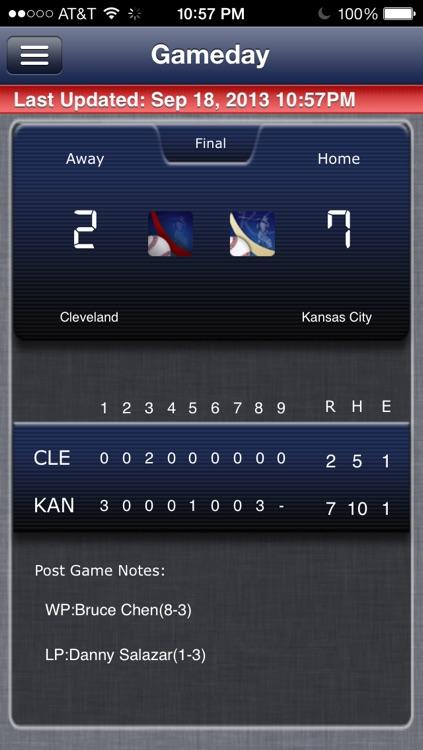 Cleveland Baseball Live screenshot-4
