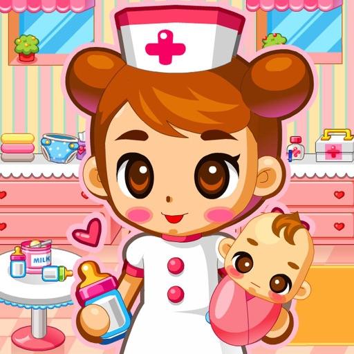 Baby Hospital Nurse: Babysitting & Baby Care