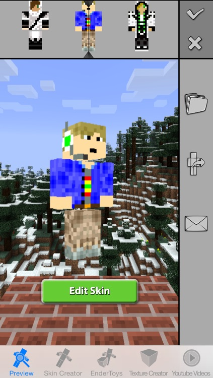 Boy Skins Pro for Minecraft Game Textures Skin screenshot-4