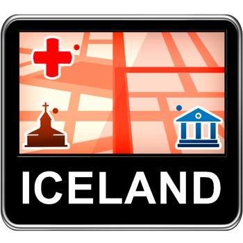 Iceland Vector Map - Travel Monster