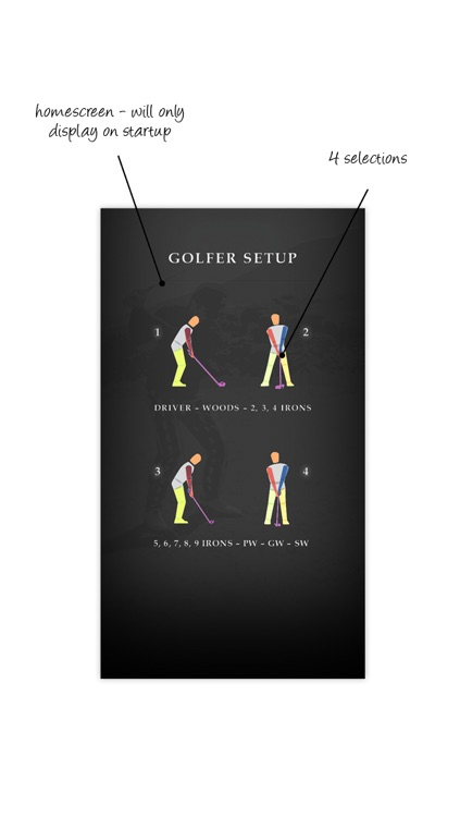 GOLFER SETUP screenshot-0