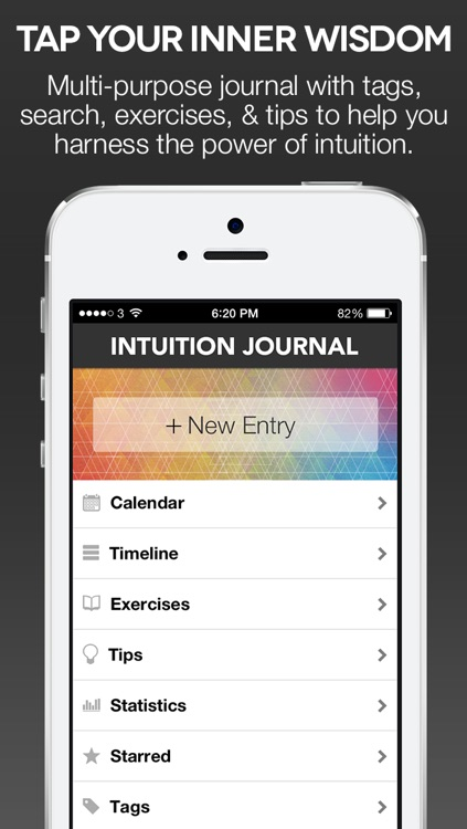 Intuition Journal – Intuition trainer with dream, synchronicity, and gratitude log