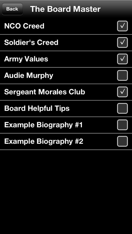 The Board Master: Army Flashcard Study Aid screenshot-3